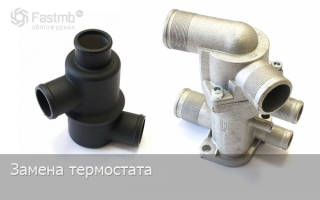 Замена термостата ваз 2110 инжектор 8 клапанов
