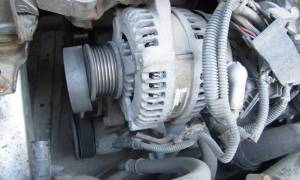 Замена щеток генератора тойота