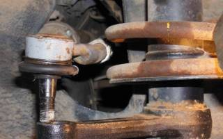 Ваз 2114 замена рулевых наконечников