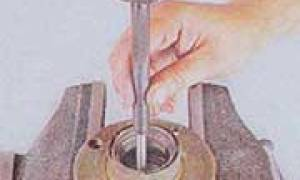 Замена ступицы на ваз 2106