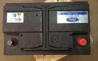 Полярность аккумулятора форд фокус 2