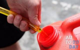 Как слить бензин из бака иномарки
