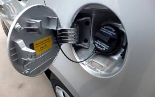 Как открыть бензобак фольксваген поло