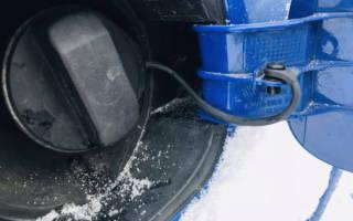 Как открыть замерзший лючок бензобака